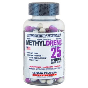 Cloma Pharma Methyldrene (Метилдрен) 25 Elite 100 капс