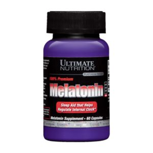 Ultimate Nutrition Premium Melatonin 3mg 60 капс