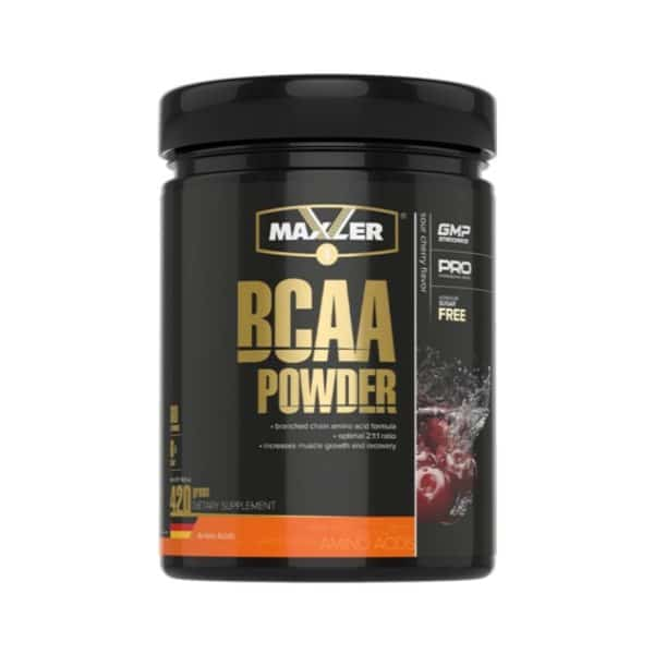 Аминокислоты БЦАА Maxler BCAA Powder 420 г