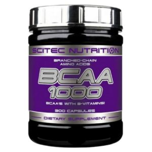 Scitec Nutrition BCAA 1000 300 капсул