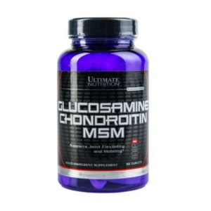 Ultimate Nutrition Glucosamine & Chondroitin & MSM 90 таб