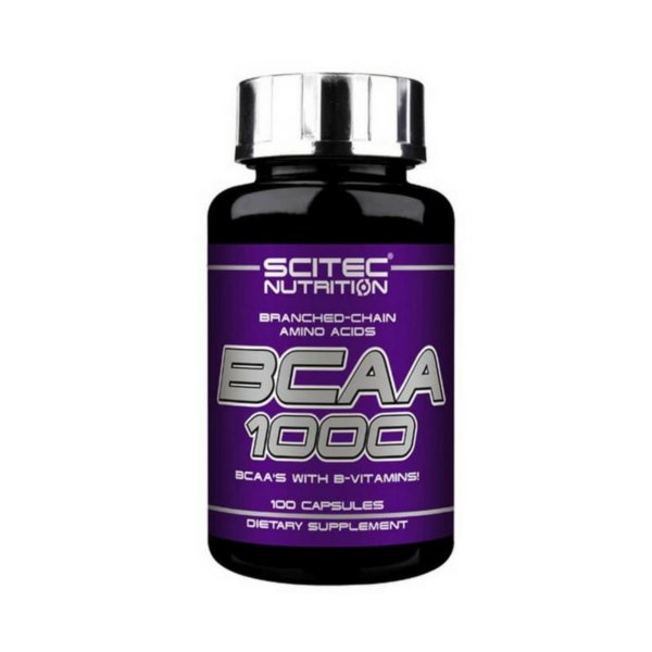 Scitec Nutrition BCAA 1000 100 капс