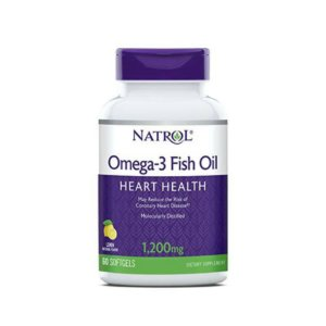 Natrol Omega-3 Fish oil 1200 мг 60 капс