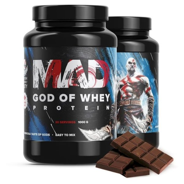 MAD God of Whey 1000 г