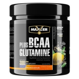 Maxler BCAA Plus Glutamine 300 г