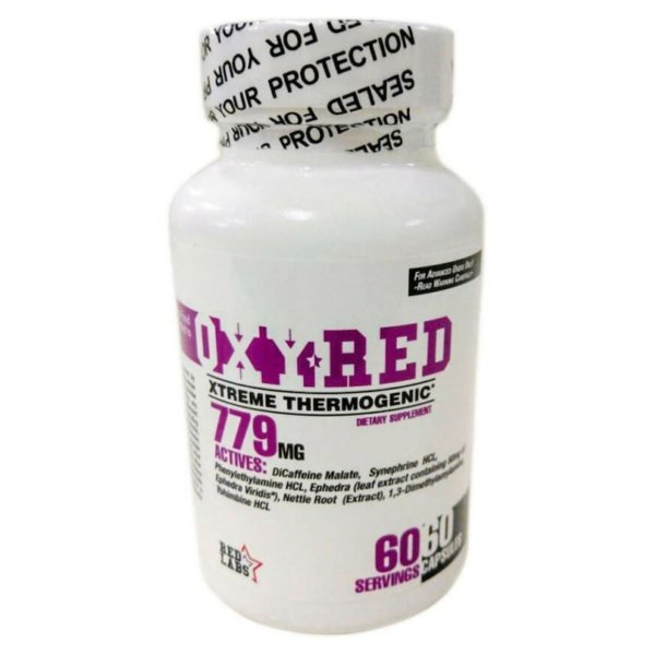RED Labs OXYRED (1.3 DMAA+EPHEDRA) 60 капс
