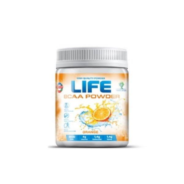 Tree of Life LIFE BCAA 200 г orange (апельсин)