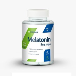 Cybermass Melatonin 5 mg 60 капс