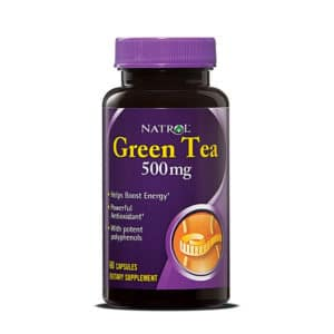 Natrol Green Tea 500 mg (60 капс)