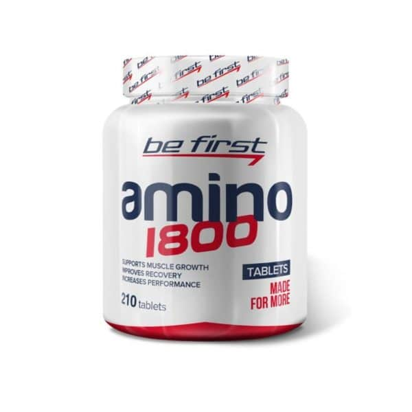Аминокислоты Be First Amino 1800 210 таблеток