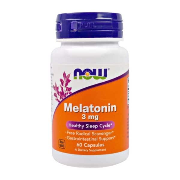 Мелатонин NOW Melatonin 3 мг 60 капсул