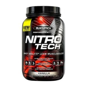 Изолят Muscletech Nitro-Tech Performance 907 г