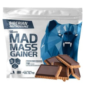 Гейнер Siberian Nutrogunz Mad mass gainer 2000 g